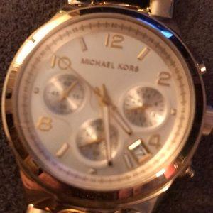 Michael Kors Women's Gold Link Watch